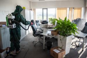 Čištění a dezinfekce interiéru